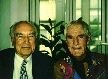 Albert Hofmann and Timothy Leary 1993