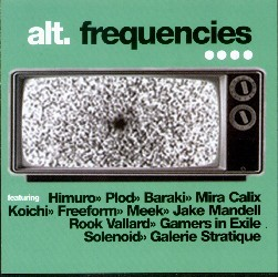 Alt.Frequencies.4 compilation CD on Worm Interface  #024 (2000)