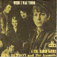 Animals - When I Was Young/A Girl Named Sandoz 7inch (1967)