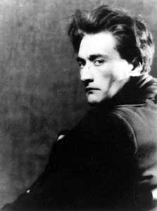 Antonin Artaud photo by Man Ray