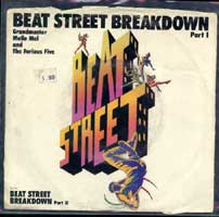 Grandmaster Melle Mel And The Furious Five - Beatstreet Breakdown 7inch on Atlantic (1984)