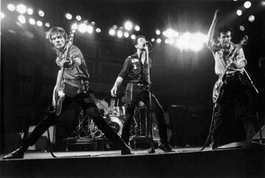 The Clash in full throttle