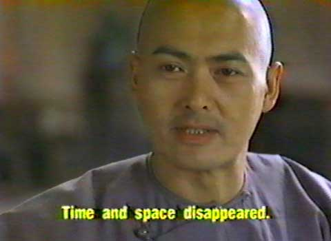 Crouching Tiger Hidden Dragon - time and space disappeared...