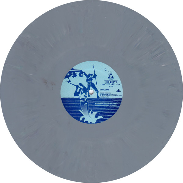 "Drexciya - Aquative Invasion 12"" (grey marbled vinyl)"