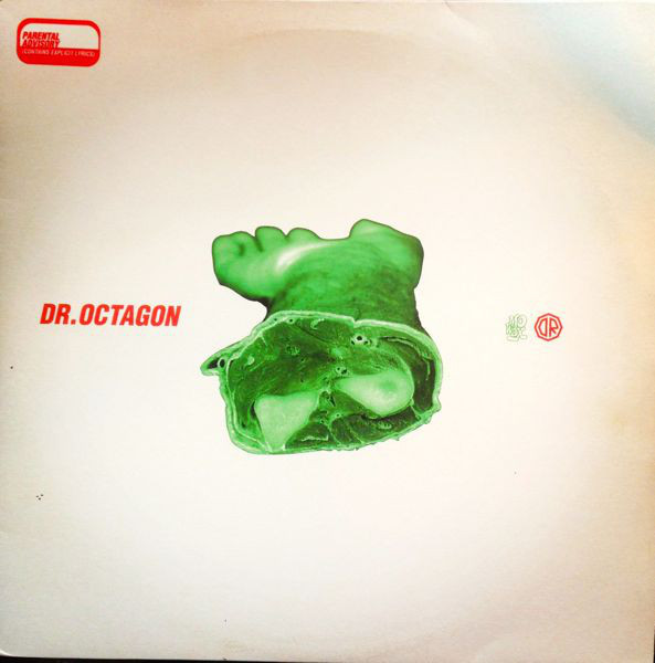 "Dr. Octagon 12""x3 front cover"