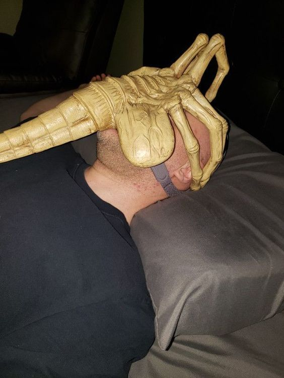 facehugger sleep apnea mask