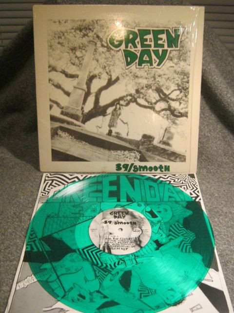 "Green Day - 39/Smooth 12"" (green vinyl)"