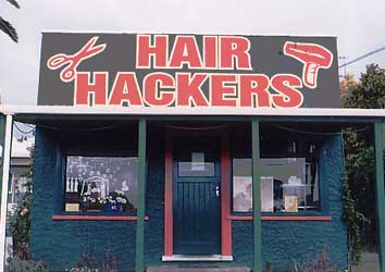 Hair Hackers - located in Gisbourne, New Zeland