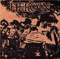 Heroint - s/t 7inch on Gravity (1993)