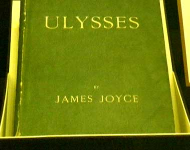 Huntington Library - Ulysses by James Joyce first edition (1922)
