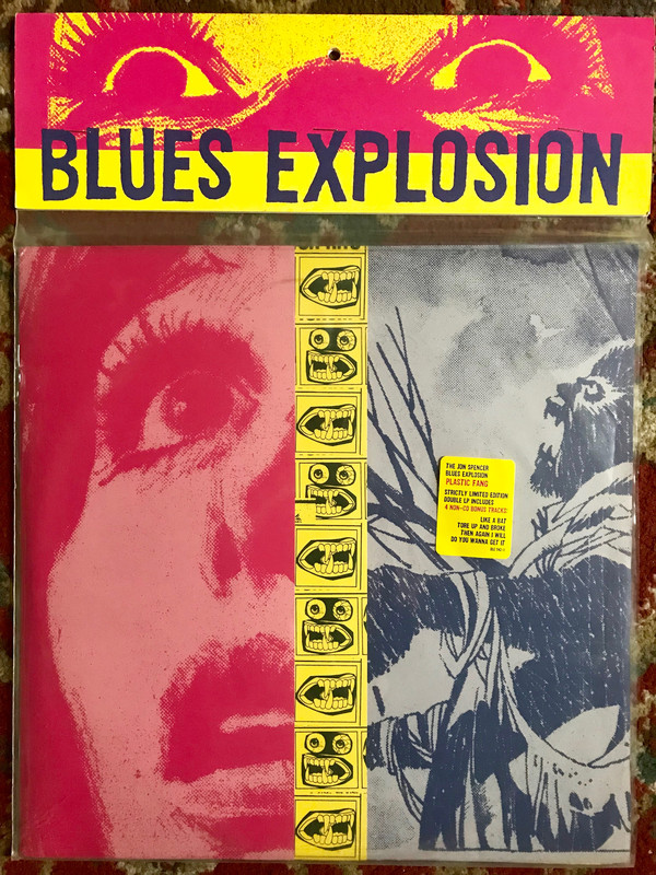 "The Jon Spencer Blues Explosion - Plastic Fang 12""x2 cover"