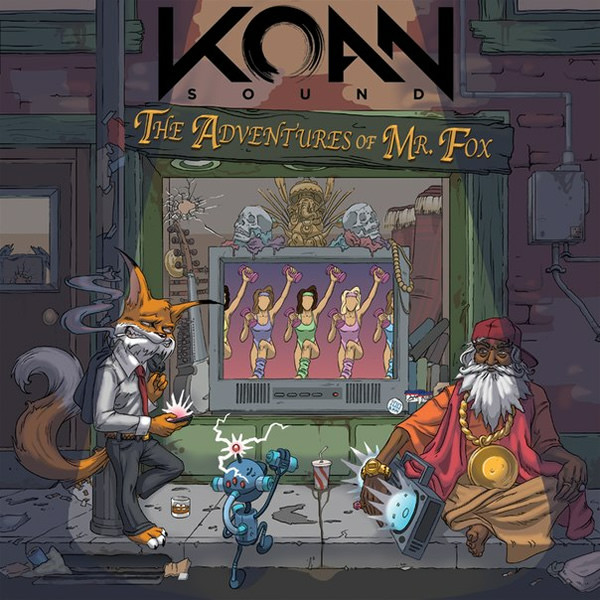 KOAN Sound - The Adventures Of Mr. Fox cover