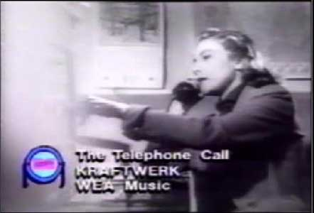 Kraftwerk - The Telephone Call video