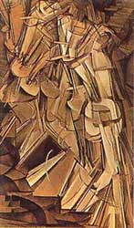 Marcel Duchamp - _Nude Descending A Staircase_