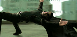 The Matrix - you move like they do