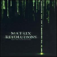Matrix Revolutions soundtrack CD
