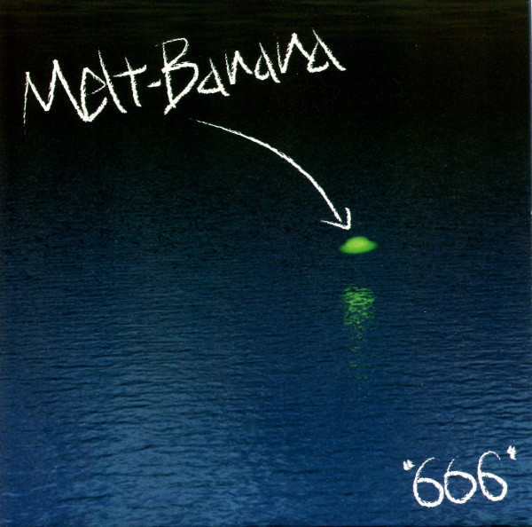 "Melt Banana - 666 6"" front cover"