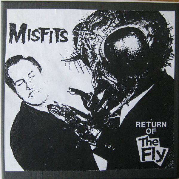 Misfits - Return Of The Fly 7""