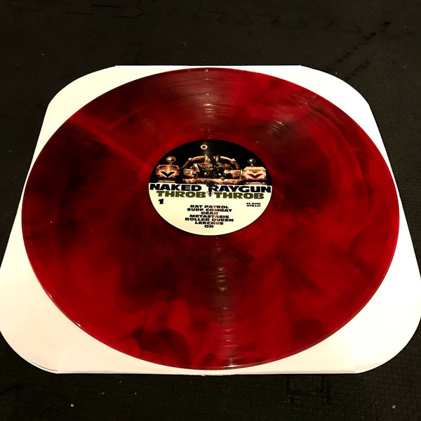 "Naked Raygun - Throb Throb 12"" (war blood vinyl)"