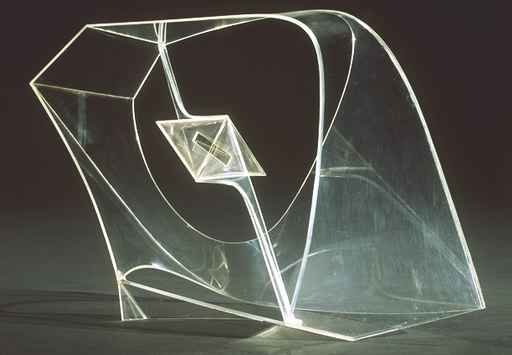 Naum Gabo - Construction In Space with Crystalline Center