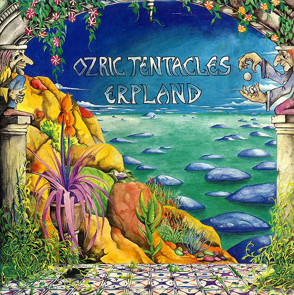 "Ozric Tentacles - Erpland 12""x2 cover"