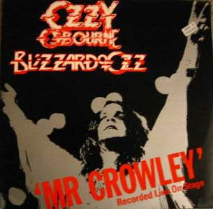 Ozzy Osbourne - Mr. Crowley 12inch (1980)