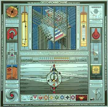 Paul Laffoley - Time Machines - Geochronmechanie From the Earth