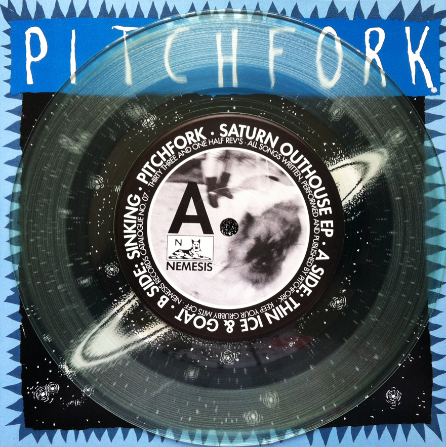 "Pitchfork - Saturn Outhouse 7"" (clear vinyl)"