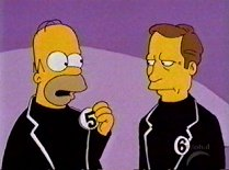 The Prisoner - Simpsons