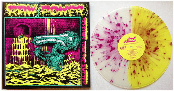 "Raw Power - Screams From The Gutter 12"" (1985)"