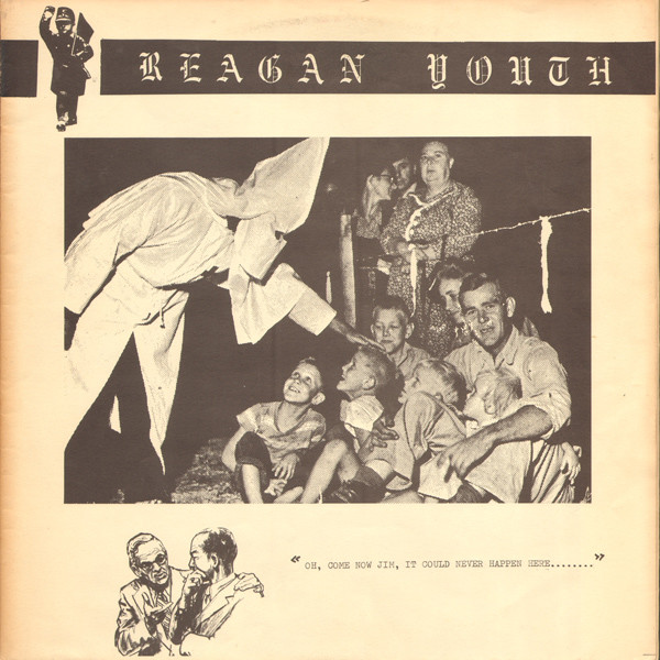 "Reagan Youth - Youth Anthems For The New Order 12"" (1984)"