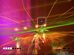 Rez - on Playstation 2 - inspired by Kandinsky