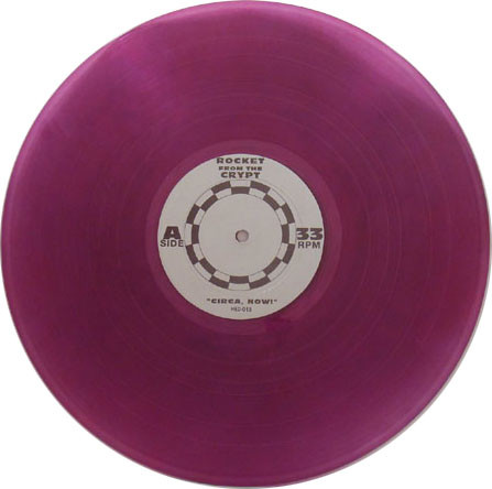 Rocket From The Crypt - Circa: Now! (grape vinyl)