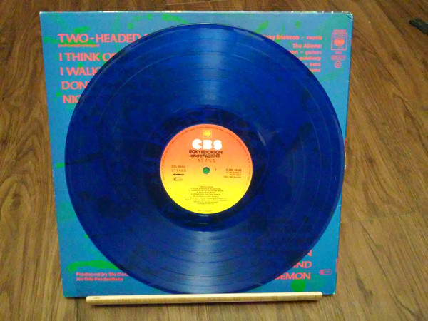 "Roky Erickson & The Aliens - Roky Erickson & The Aliens 12"" (blue vinyl)"
