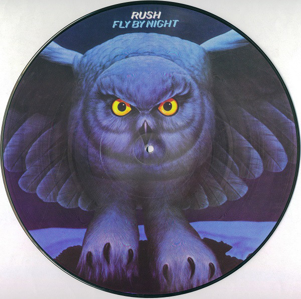 "Rush - Fly By Night 12"" picture disc"