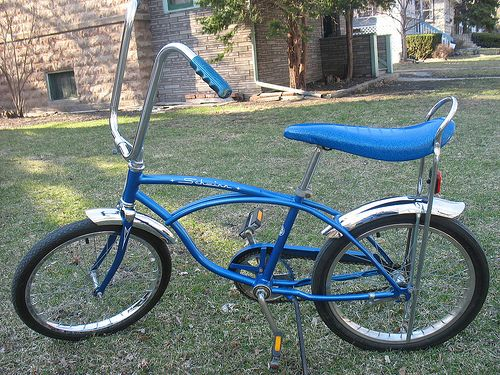 Schwinn banana seat bicycle