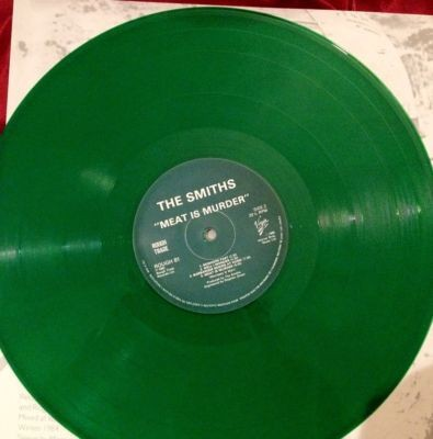 "The Smiths - Meat Is Murder 12"" green vinyl"