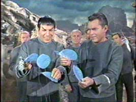 Spock shows emotion from blue flowers in the pilot episode