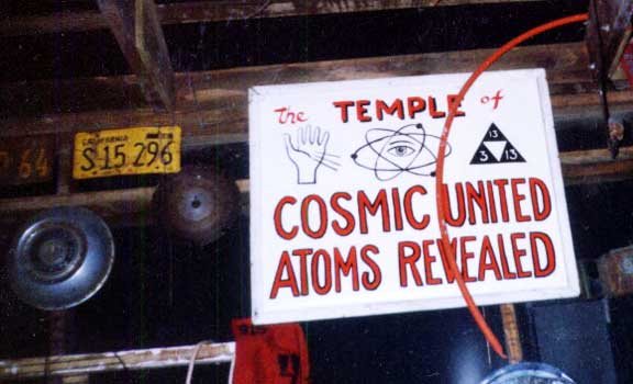 Temple Of Cosmic United Atoms Revealed - LACMA