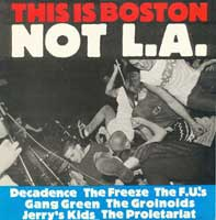 This Is Boston Not L.A. compilation on Modern Method 012 (1984)