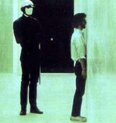 THX-1138 - up against the wall...