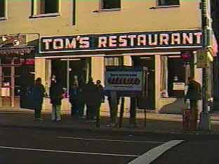 The real Tom's Restaurant