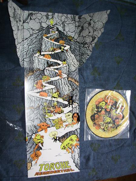 "Torche - Meanderthat 12"" (die cut cover)(picture disc)"