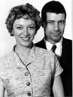Veronica Cartwright and Fred Ward as Mr. and Mrs. Grissom