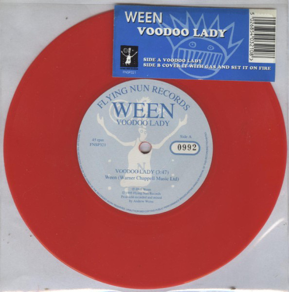 "Ween - Voodoo Lady 7"" (red vinyl)"