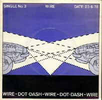 Wire - Dot Dash/Options R 7inch on Harvest (1978)